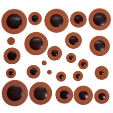 Deluxe Tenor Saxophone Leather Pads Woodwind 25pcs for Saxophone Parts