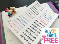 PP397 -- Days of the Week Checklist for Erin Condren (32 pcs)