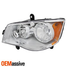 Fits 2008-2016 Chrysler Town & Country Driver Left Side Headlight Front Lamp