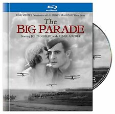 THE BIG PARADE (John Gilbert) DIGIBOOK    BLU RAY  - Sealed Region free
