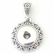Snap-It Pendant  For Ginger Snaps Style Button Charms
