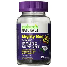 ZarBees Naturals Mighty Bee Immune Support Gummy, Berry 21 ea