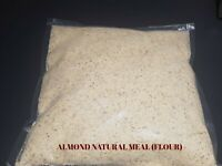 Natural ALMOND MEAL - ALMOND FLOUR - 50 Gram to 5 KG - Free Postage