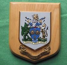 Vintage University of Bath College School Crest Shield Plaque x