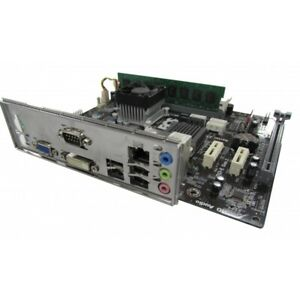 ECS NM70-M V1.0 Motherboard, Integrated Celeron CPU, 4GB RAM With I/O Shield