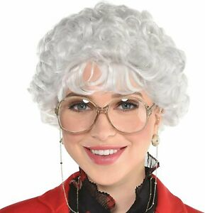 amscan Party City Witty Senior Wig Halloween Costume Accessory for Adults,...