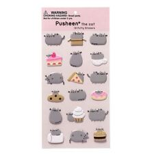 Official Licensed GUND Pusheen The  Cat Puffy Stickers Set of 18