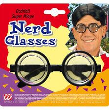 Einfache Nerd Brille NEU - Zubehör Accessoire Karneval Fasching