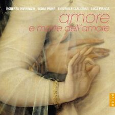 Amore e morte dell ' Amore CD NUOVO Monteverdi/Marcello/Handel/Lotti/Scarlatti