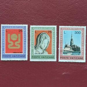 Vaticano año 1971 Año Internacional lucha contra el racismo Nº 518 al 521 MNH