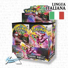BOX SPADA & SCUDO • FRAGORE RIBELLE • SWSH2 • 36 Buste in ITALIANO • POKEMON