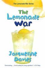 The Lemonade War 1 by Jacqueline Davies (2012 Scholastic Paperback) DD2596