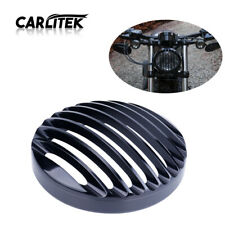 Metal Headlight Grill Cover Fits Harley Davidson Sportster XL 883 1200 X48 Black