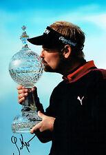 Soren KJELDSEN Irish Open Golf Winner 12x8 Photo Signed Autograph AFTAL COA
