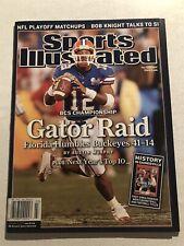 2007 Sports Illustrated FLORIDA GATORS vs OHIO STATE National Champions NO LABEL