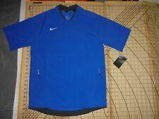 Mens Small Blue Nike Baseball Shirt With Pockets - Nwt