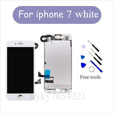 "For Full iPhone 7 4.7"" Touch Screen Display Replacement Digitizer + Camera White"