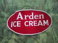 Vintage Arden Ice Cream Jacket Patch, Nice