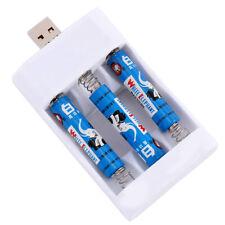 PILE STILO / MINISTILO CARICA BATTERIE USB RICARICABILI PC AA AAA PRESA kq