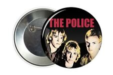 Badge Pin Button The Police Sting 38 mm
