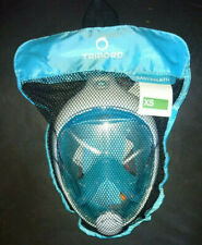 THE ORIGINAL Tribord Easybreath® snorkeling mask, TURQUOISE Size XS, PERFECT!