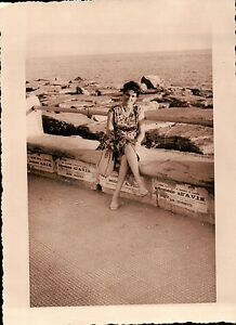 FOTO DEL LUNGOMARE DI CHIAVARI ( GENOVA )  - 1960 -   C8-364