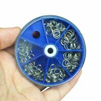 Stainless Steel Split Ring Set 116pcs/lot Fishing Accessories Fishing Split Ring