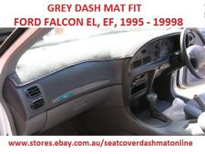 DARK GREY DASH MAT, DASHMAT, DASHBOARD COVER FIT  FORD FALCON EF, EL 1995-1998,