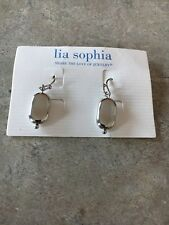 Lia Sophia Peanut Earrings NWT!