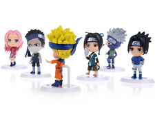 HOT Anime Naruto Set 6 pcs Figures Collection naruto figurines toy