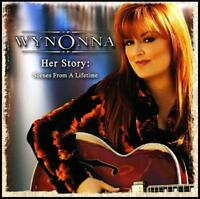WYNONNA (2 CD) HER STORY : SCENES FROM A LIFETIME CD ( JUDD / JUDDS ) *NEW*