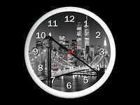 New York City Wall Clock Can be Personalised