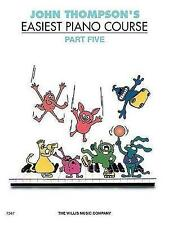 John Thompson's Easiest Piano Course: Part 5 (Revised Edition) by John Thompson (Paperback, 1969)