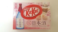 NESTLE KITKAT JAPAN LIMITED RARE Mini Bars sakura  sake nihonnshu 3P   F/S