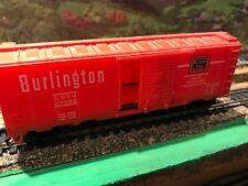 HO Burlington Box Car -Estate-5Ern