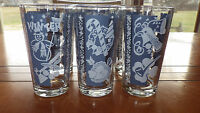 Vintage Blue Winter themed Tumblers Celebrates winter Holidays 6 10 oz