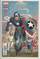 STEVE ROGERS CAPTAIN AMERICA 1 (2nd PRINT) VARIANT HAIL HYDRA Marvel 2016 NM- NM