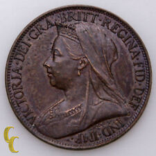 1901 Great Britain Farthing Coin In BU, KM# 788.2