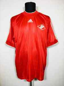 SPARTAK MOSCOW 2000/2001 HOME PROTOTYPE SHIRT SOCCER JERSEY ADIDAS