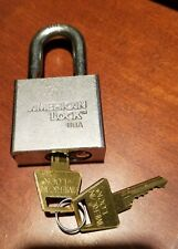 High Security American Padlock Series 50 with Security 6 Pin Core