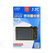 JJC LCP-G7X Camera LCD Screen Protector Film Cover for Canon G9 X Mk2,G7X Mk2,M6