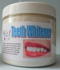 Natural Mineral TOOTH WHITENER / STAIN REMOVER  150ml purest DE no chemicals