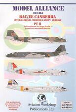 Alianza Modelo 1/48 BAC/EE Canberra parte II # 48140