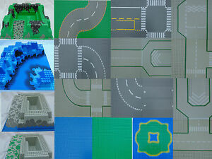 LEGO Base Plates Boards Various Sizes 3D & Flat 48x48 32x32 32x16 12x12 8x8 etc