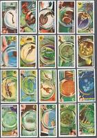 1925 Typhoo Tea Common Objects Highly Magnified Tobacco Cards Complete Set of 25