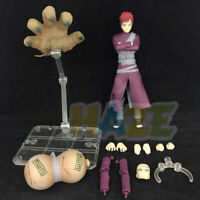 S.H.Figuarts Naruto Shippuden Gaara PVC Action Figure Toy 15cm In Box Model Gift