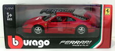 Burago 1/24 Scale Metal Model - 18-26016 Ferrari F40 - Red