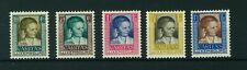 Luxembourg 1930 Helping Children full set of stamps. Mint. Sg 290-294.