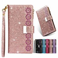 Luxury Shining Handy Wallet Flip Wallet Case Cover For Samsung Galaxy Phone