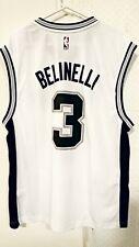 Adidas NBA Jersey San Antonio Spurs Marco Belinelli White sz XL